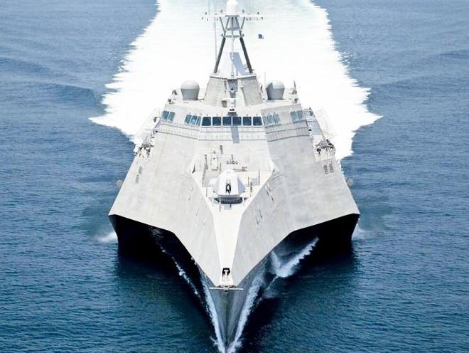 Mỹ bật mí siêu chiến hạm 3 thân thế hệ mới