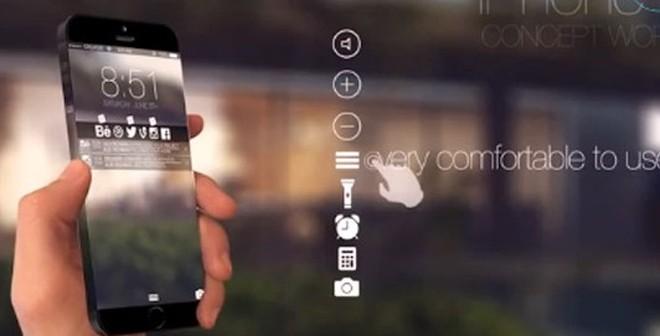 Clip: Bản dựng iPhone 6 tràn màn hình