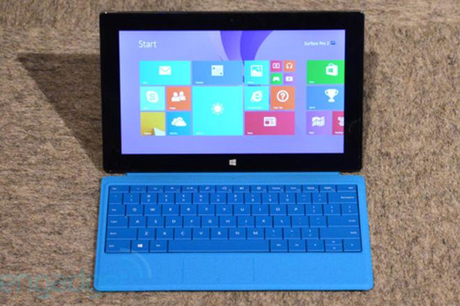Surface Pro 2 và Surface 2: nhanh, mạnh hơn, pin khỏe hơn