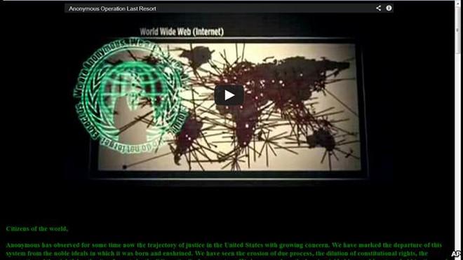 Tin tặc đánh sập nhiều trang mạng Bộ Tư pháp Mỹ