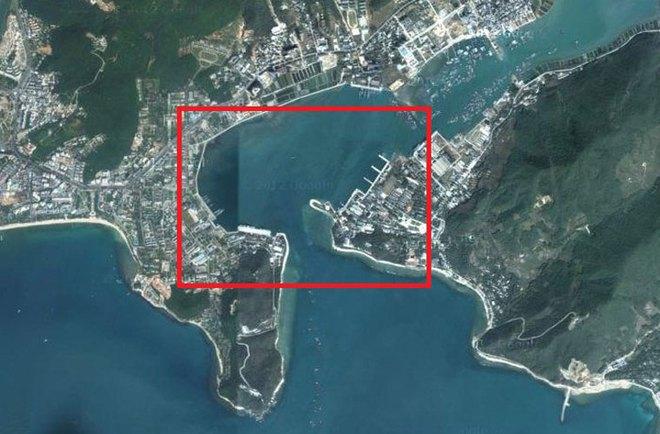"""""""Do thám"""" căn cứ tàu ngầm chiến lược Trung Quốc bằng Google Maps"""