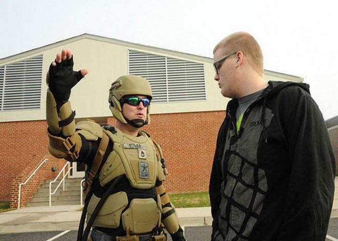 """Quân đội Mỹ sẽ có áo giáp """"lạ"""" trong tương lai"""