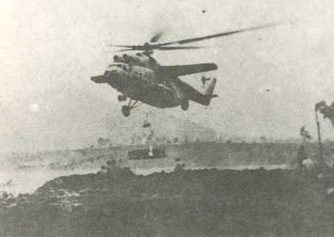 Khám phá trực thăng lớn nhất TG một thời ở Việt Nam