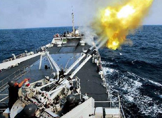 Trung Quốc khoe ảnh hạm đội Nam Hải tập trận