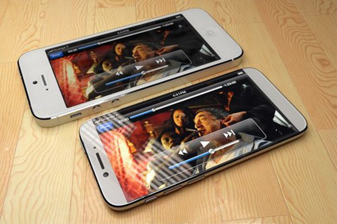 Ý tưởng iPhone 6 mang phong cách của iPad Mini