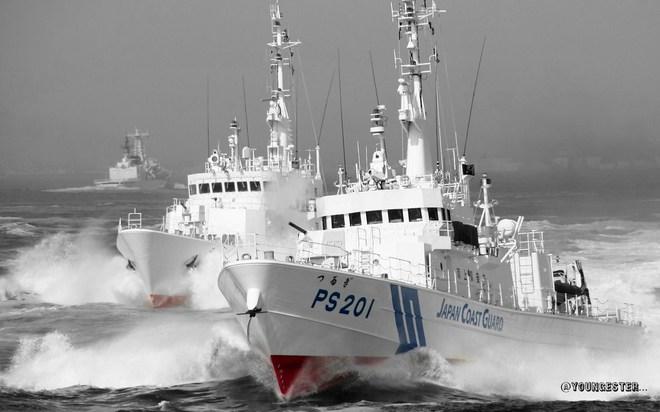 """5 lực lượng hàng hải và """"trò mèo"""" của Trung Quốc"""