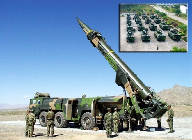 Ảnh: Trung Quốc khoe sức mạnh đơn vị tên lửa mạnh nhất quốc gia