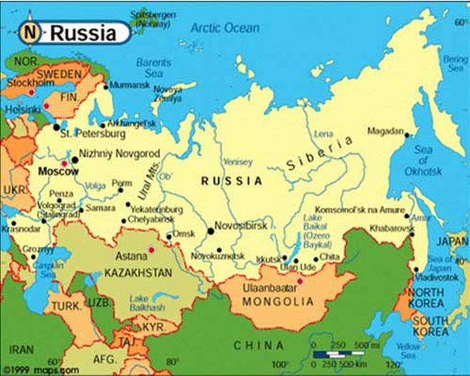 Người Nga và kịch bản Trung Quốc tấn công Nga