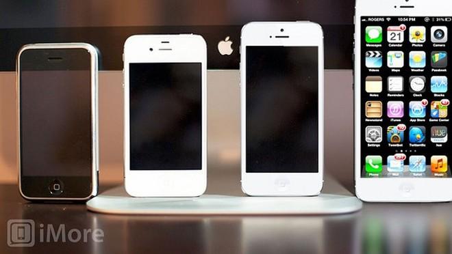 iPhone 5S sẽ sở hữu nhiều kích thước màn hình khác nhau