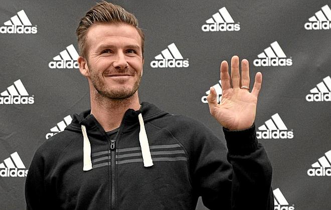 """David Beckham thu nhập """"khủng"""" nhất giới cầu thủ"""