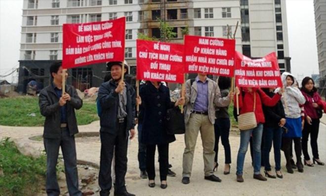 Những vụ biểu tình 'tai tiếng' tại các dự án xây dựng