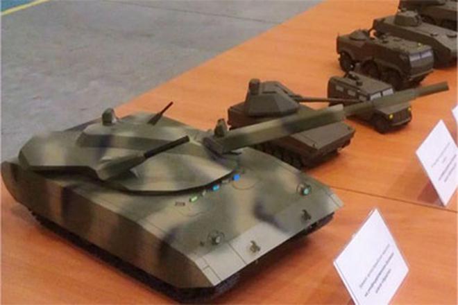 Siêu tăng Armata được trang bị tháp pháo dạng mô-đun tự động