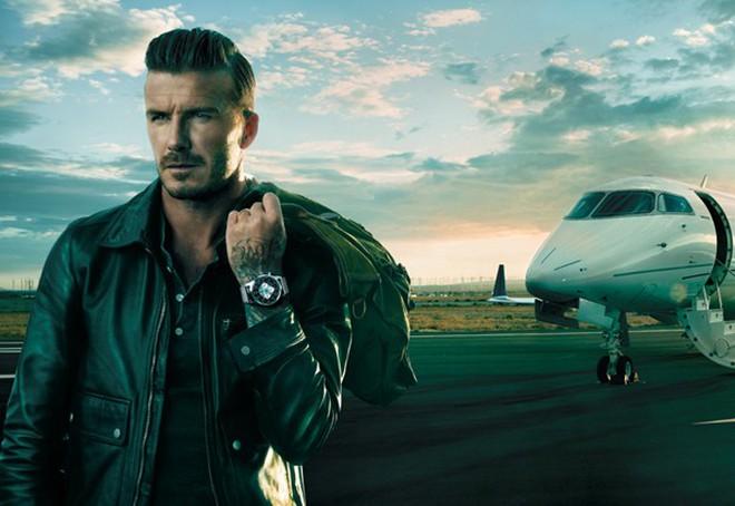 Beckham và sự biến hóa hình ảnh trong các dự án quảng cáo