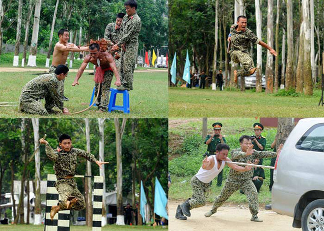 Báo Trung Quốc phải bái phục tài nghệ của đặc công Việt Nam