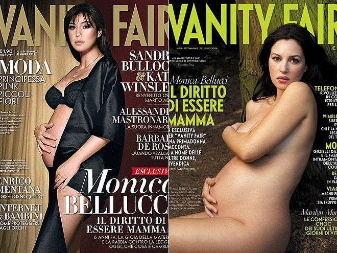 Những khoảnh khắc tuyệt đẹp khi mỹ nhân mang bầu