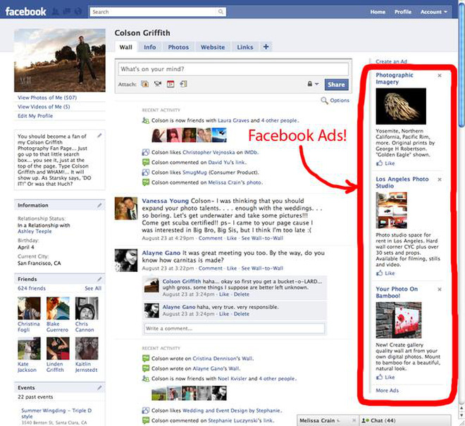 """Người dùng Facebook sắp """"ngập"""" trong quảng cáo"""