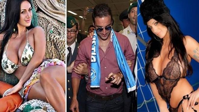 Mới đến Italia, Higuain đã bị người đẹp ngực khủng mời gọi