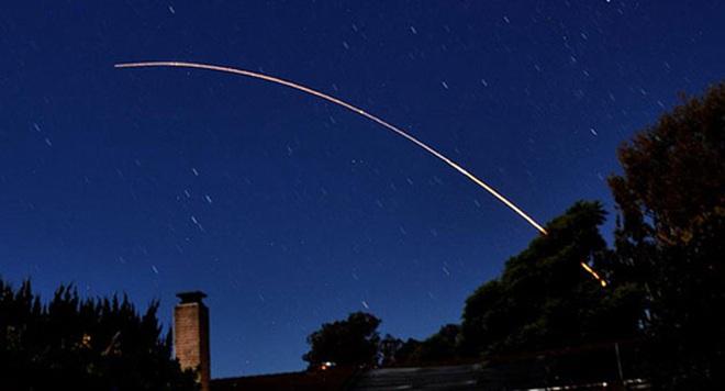 Mỹ phóng thử tên lửa liên lục địa Minuteman III