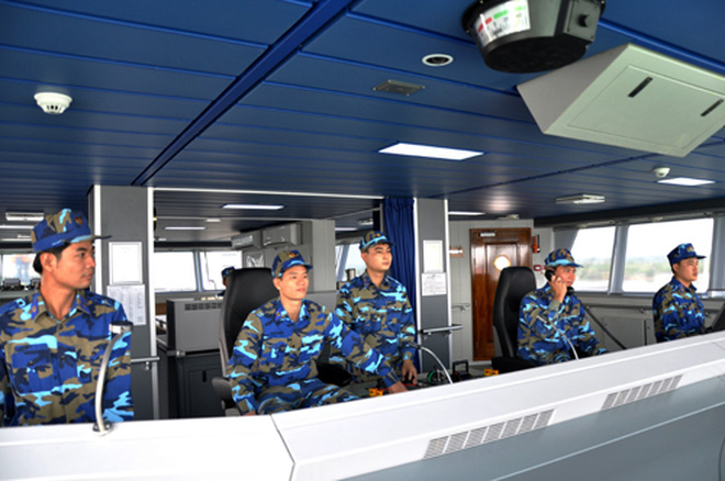 Tàu Cảnh sát biển 8001 Việt Nam hiện đại nhất khu vực