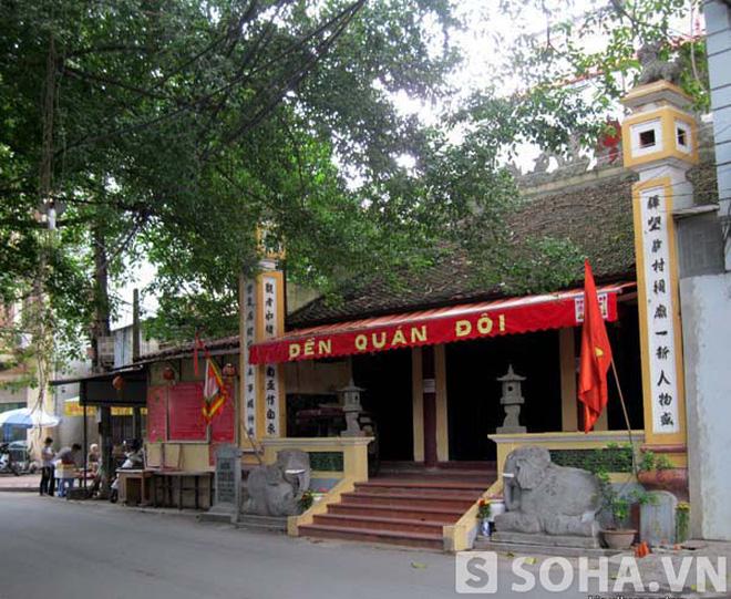 """""""Giải oan"""" cho ngôi đền từng bị nghi có """"thánh vật"""" ở Hà Nội (kỳ 2)"""