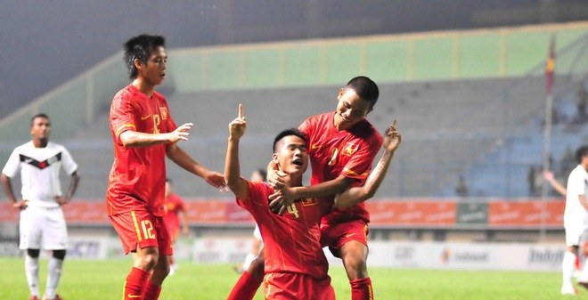 Học U19 Việt Nam, U23 lập kỷ lục