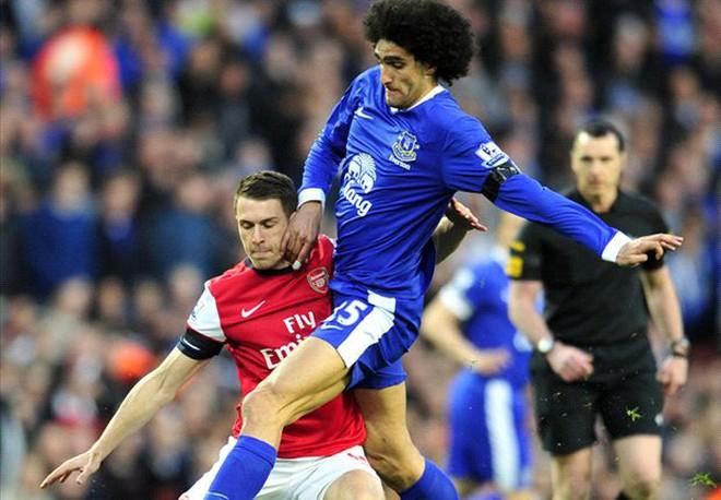 Arsenal nhảy vào phá đám Man United vụ Fellaini