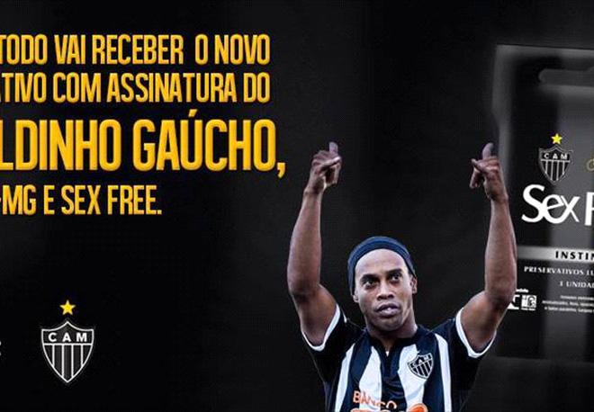 Bắt chước Beckham, Ronaldinho kinh doanh… bao cao su