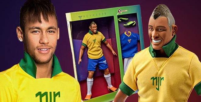 """""""Đầu tư ngoài ngành"""", Neymar đi bán... búp bê"""