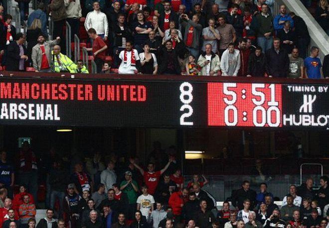 Top 5 trận thua thảm của Arsenal tại Premier League