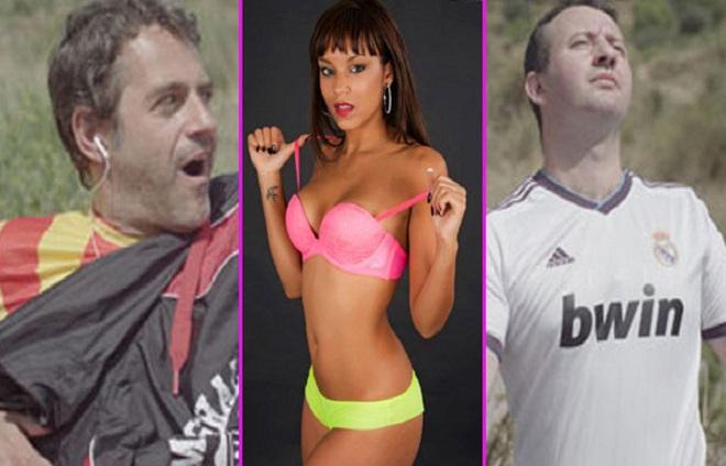 Clip cực hài về sự hám gái của fan Barca và Real