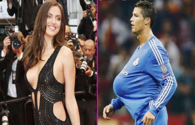 Lật tẩy vụ Irina Shayk mang bầu với Cris Ronaldo