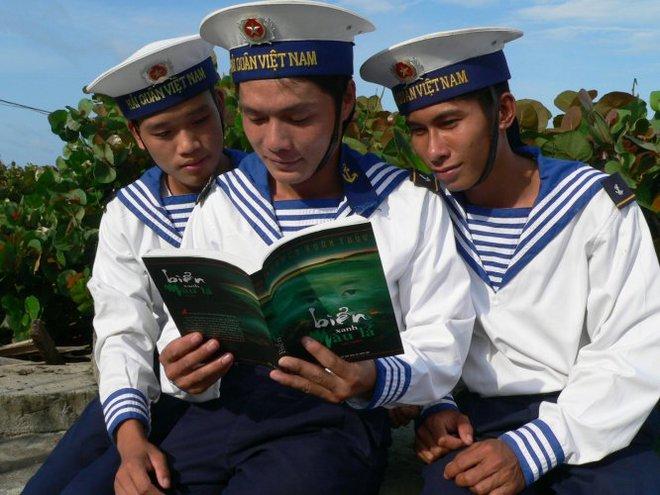 Tuyển sinh 2013: Lính Trường Sa được ưu tiên vào trường quân đội