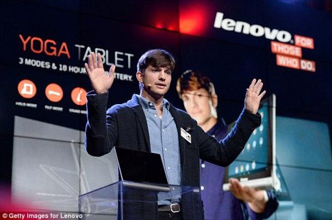 """""""Steve Jobs màn ảnh"""" trở thành """"kỹ sư xịn"""" của Lenovo"""
