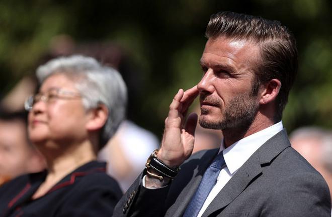 """David Beckham bị """"hành xác"""" tại Trung Quốc"""