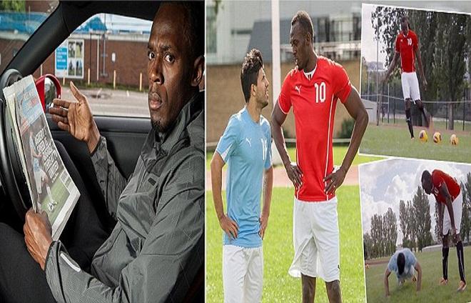 Phản Man United, Usain Bolt bất ngờ theo Man City