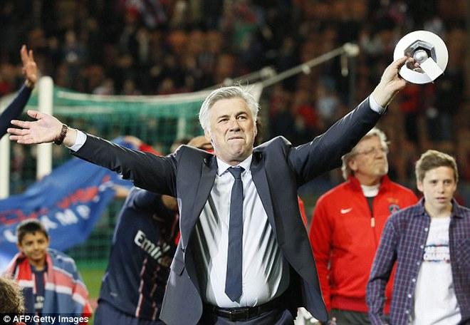 Carlo Ancelotti thừa nhận đòi đến Real, thế chỗ Mourinho