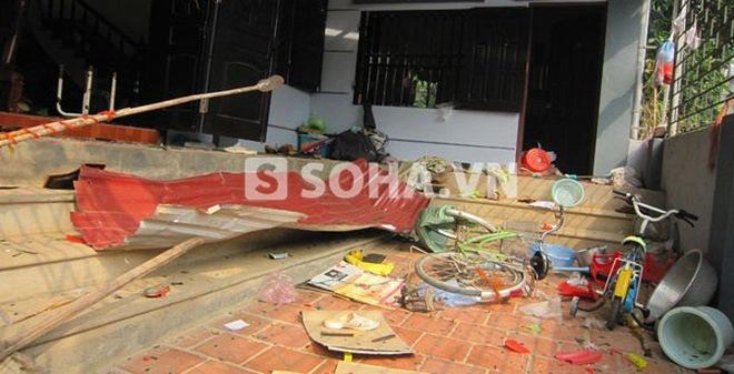 """Chùm ảnh """"nóng"""": Hiện trường vỡ nát vụ nổ kinh hoàng tại Phú Thọ"""