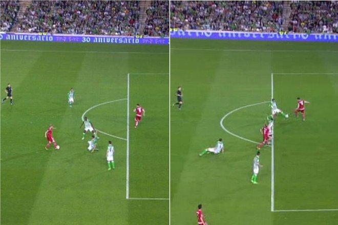 Sai lầm khó tin của trọng tài La Liga