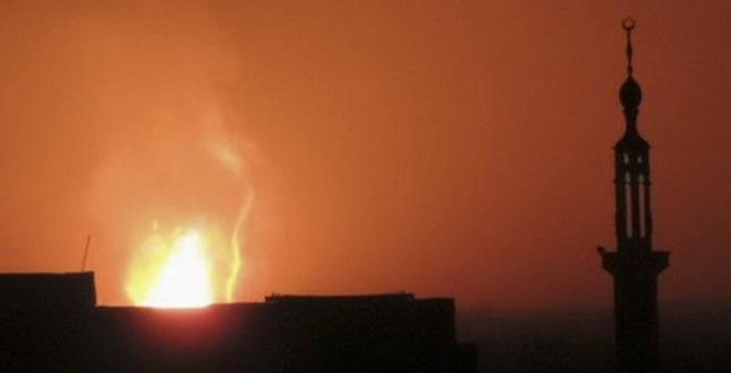 Cả nước Syria mất điện vì một vụ nổ