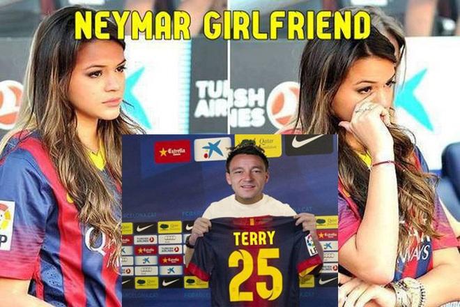 Chế - Vui - Độc: Nguyên nhân khiến bồ Neymar khóc sưng mắt!