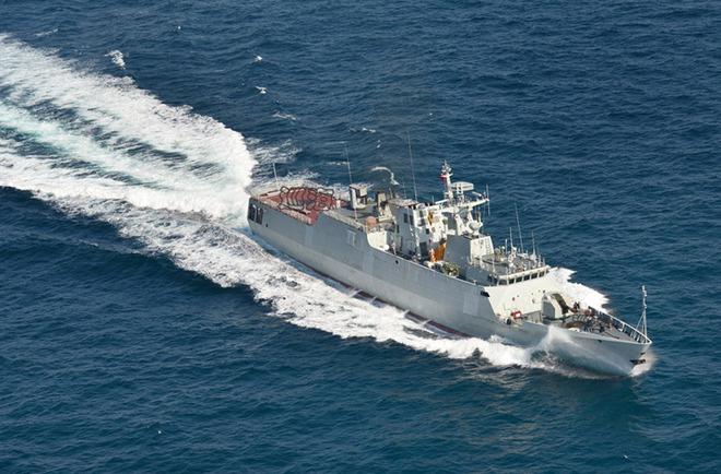 Tàu chiến tàng hình mới nhất của Trung Quốc có gì đặc biệt?