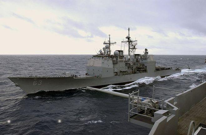 Biển Đông: Tàu chiến TQ ngang ngược chặn đầu tuần dương hạm Mỹ