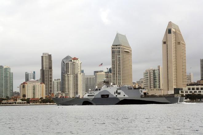 Mỹ triển khai siêu chiến hạm tuần duyên tại Singapore từ 1/3
