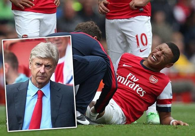 Sốc: Arsenal chỉ còn 8 cầu thủ để chơi tại Champions League