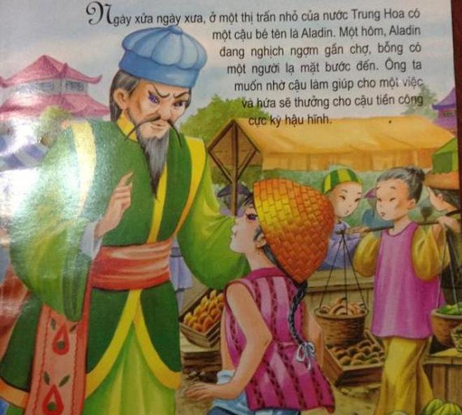 Aladin là người Trung Quốc: NXB Dân trí vẫn cho là... phù hợp
