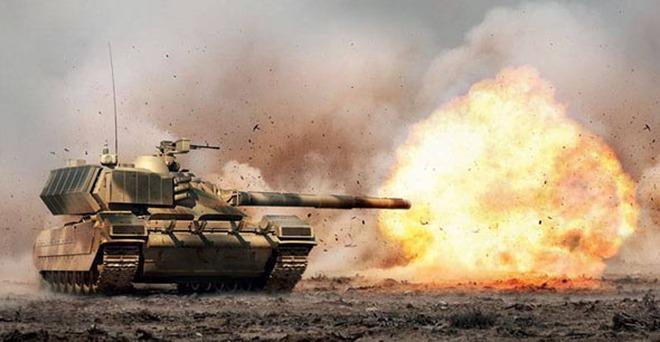 Hé lộ sức mạnh siêu tăng Armata của Nga