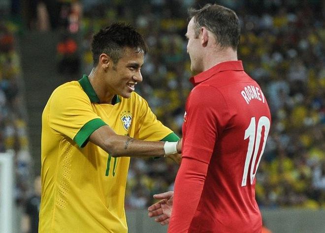 Với Rooney, Neymar vẫn còn kém xa