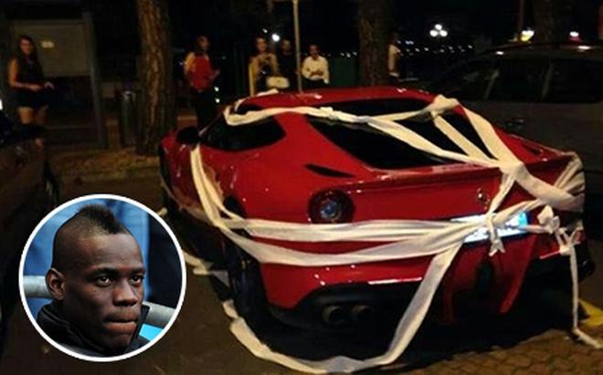 Không được ký tặng, fan cuồng biến siêu xe của Balotelli thành nhà vệ sinh