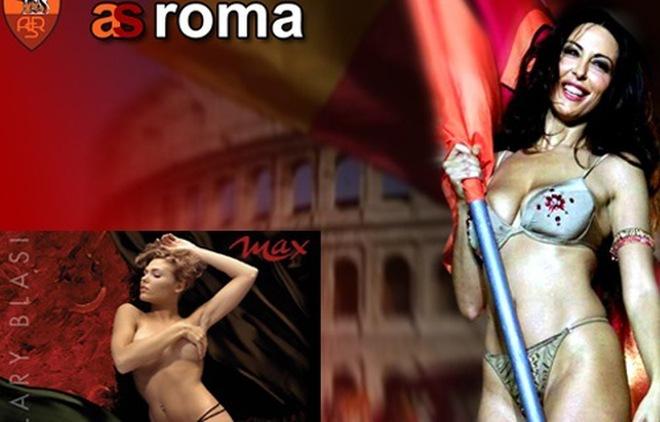 Vợ yêu Totti được tiến cử khỏa thân mừng AS Roma vô địch