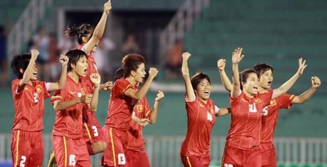 TRỰC TIẾP nữ Việt Nam vs nữ Myanmar